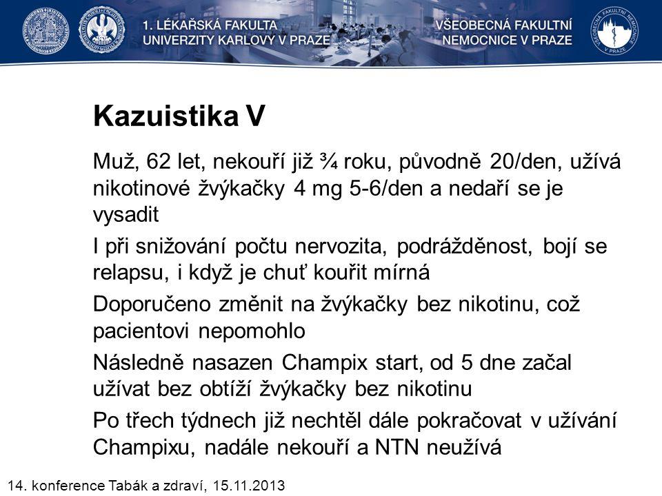Kazuistika V
