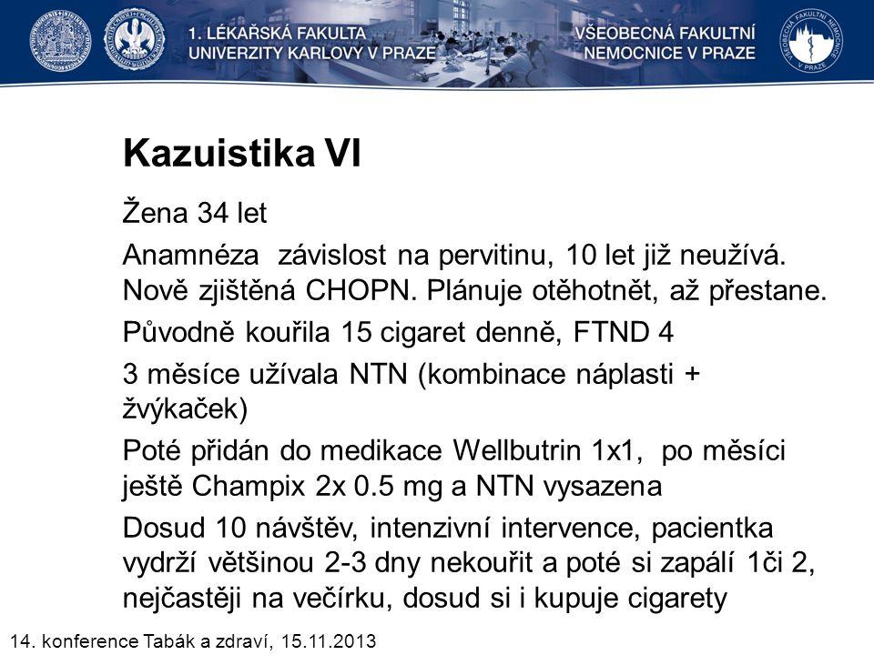 Kazuistika VI