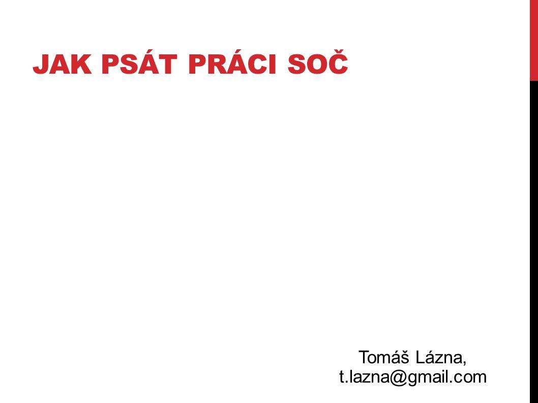 Tomáš Lázna, t.lazna@gmail.com