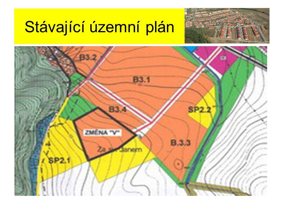 Stávající územní plán