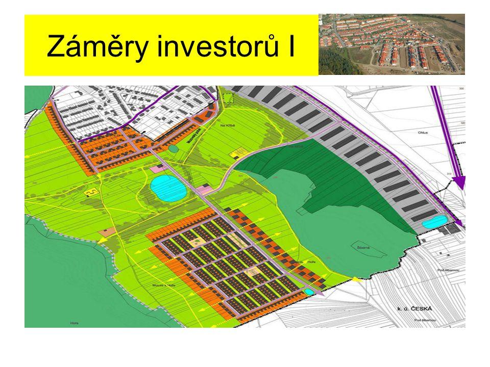 Záměry investorů I Takto vypadal první návrh pro územní plán od architekta