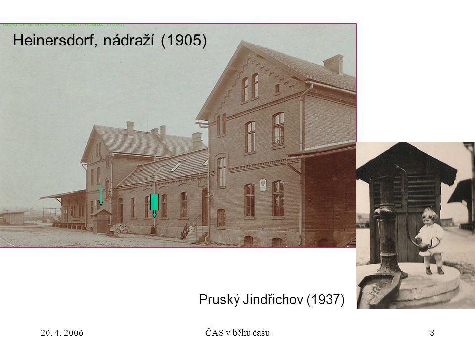 Heinersdorf, nádraží (1905)