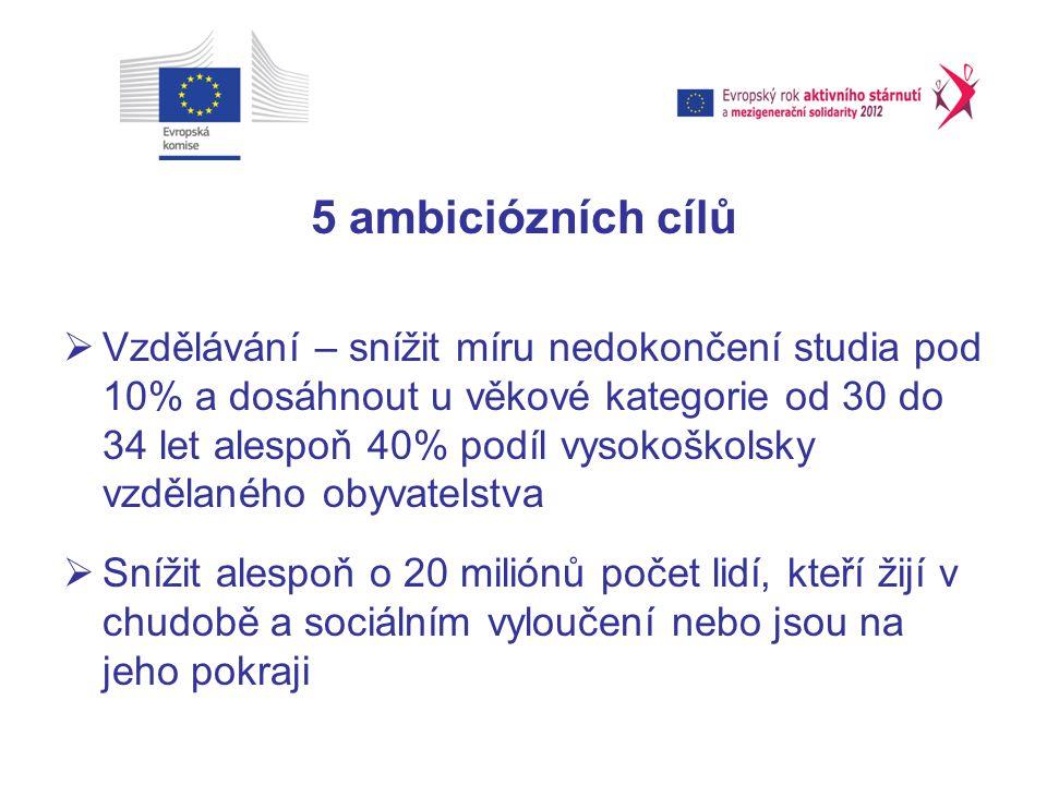 5 ambiciózních cílů