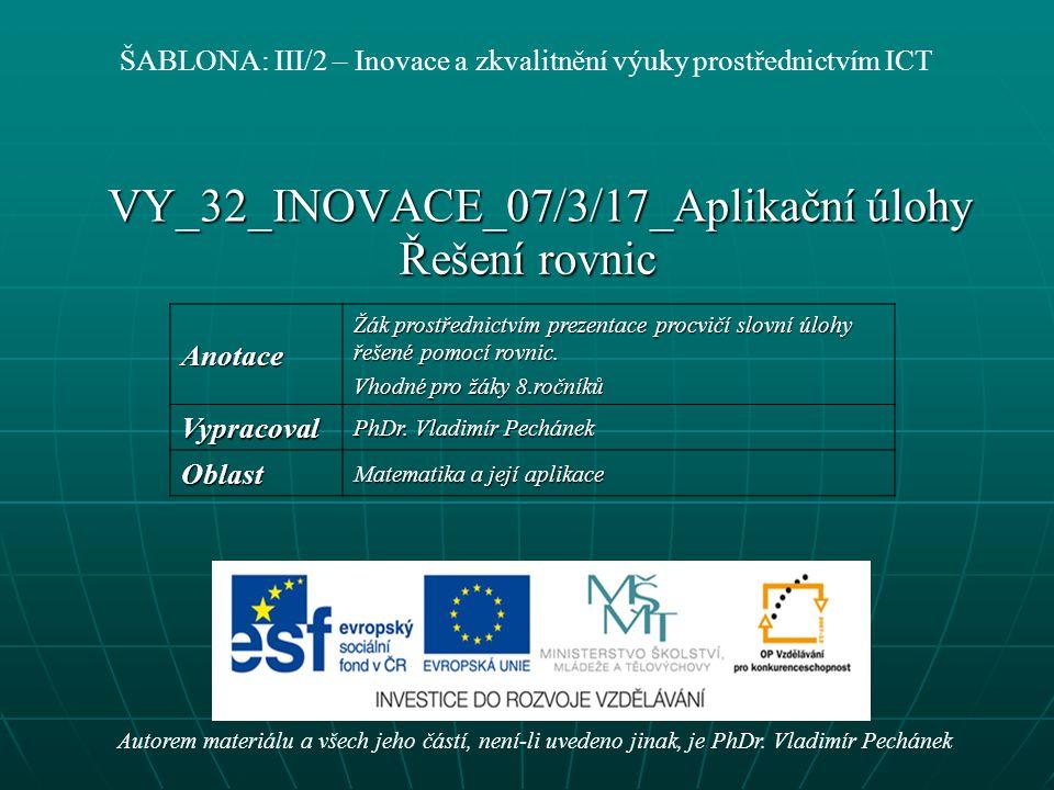 VY_32_INOVACE_07/3/17_Aplikační úlohy