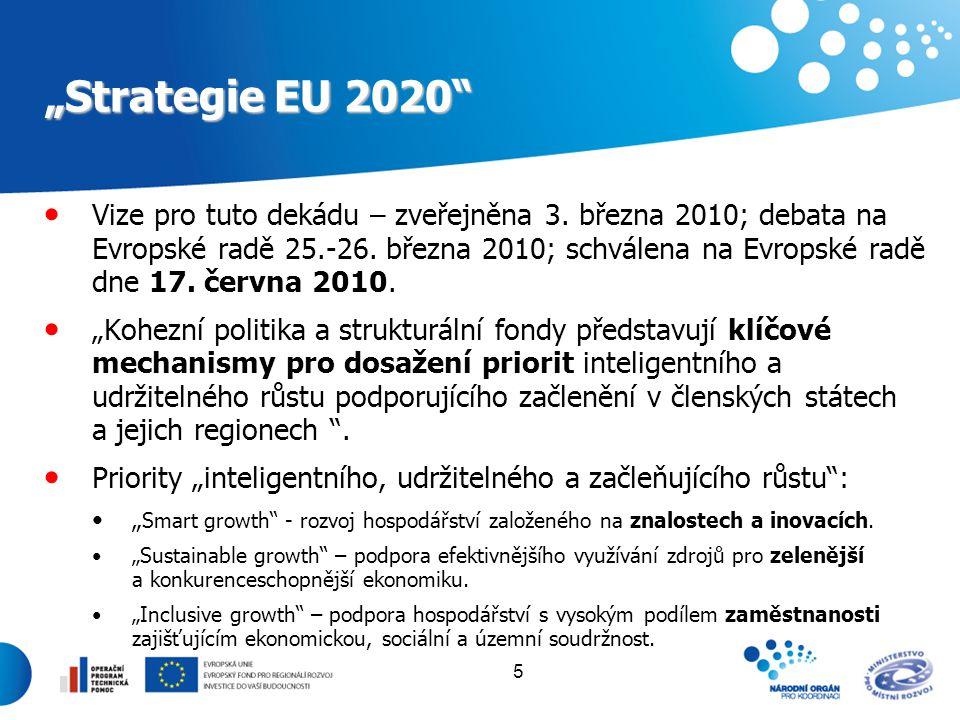 """""""Strategie EU 2020"""