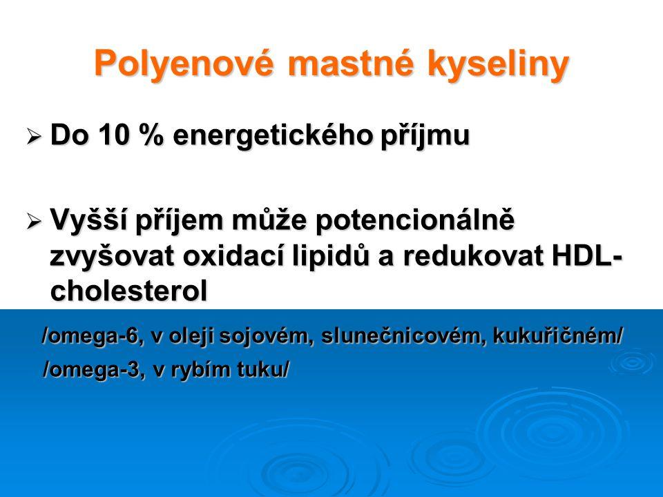 Polyenové mastné kyseliny
