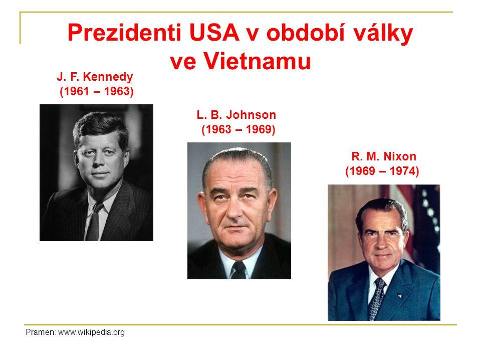 Prezidenti USA v období války ve Vietnamu