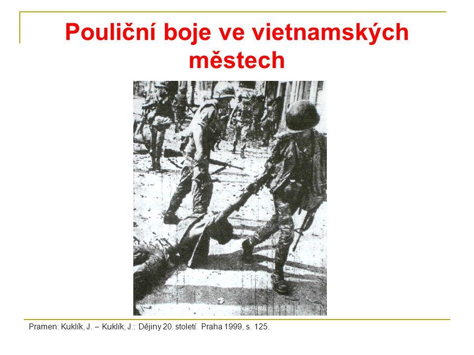 Pouliční boje ve vietnamských městech
