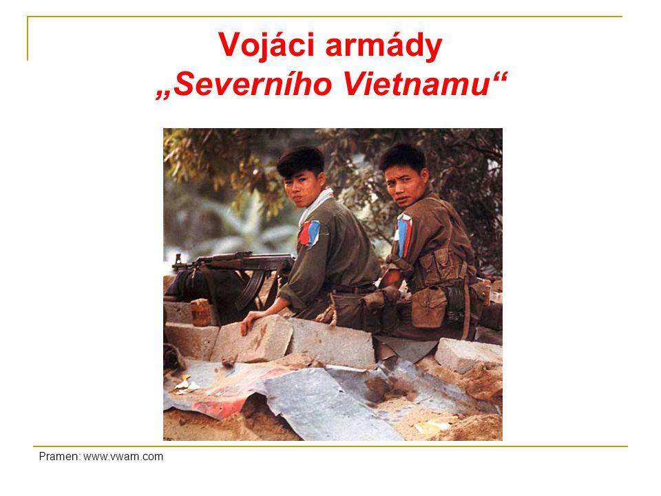 """Vojáci armády """"Severního Vietnamu"""