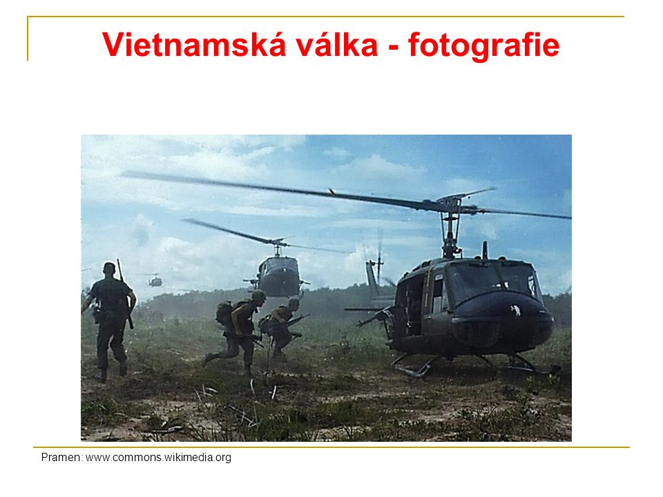 Vietnamská válka - fotografie