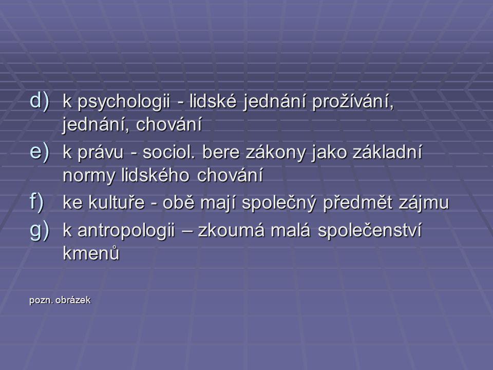 k psychologii - lidské jednání prožívání, jednání, chování