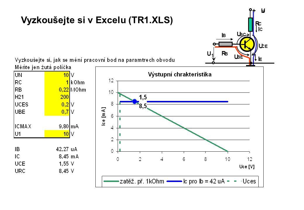 Vyzkoušejte si v Excelu (TR1.XLS)
