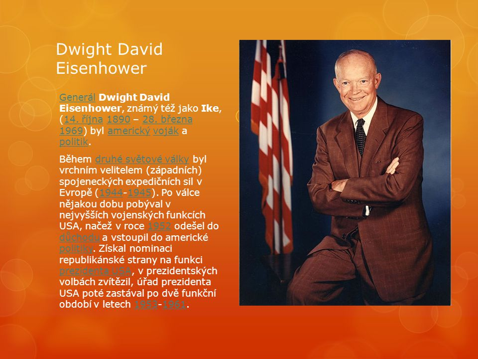 Dwight David Eisenhower