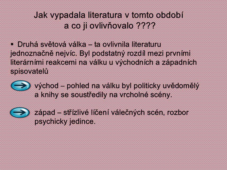 Jak vypadala literatura v tomto období