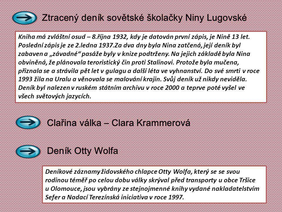 Ztracený deník sovětské školačky Niny Lugovské