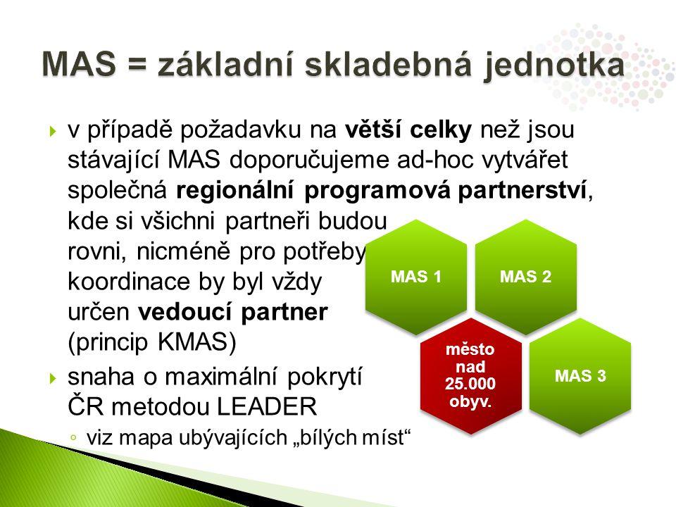 MAS = základní skladebná jednotka