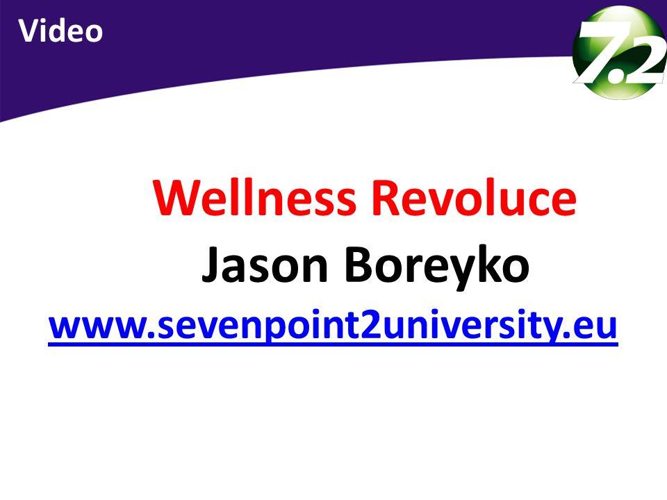 Wellness Revoluce Jason Boreyko