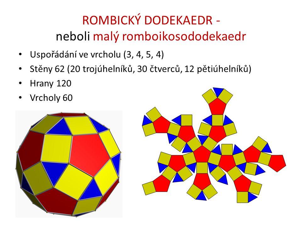 ROMBICKÝ DODEKAEDR - neboli malý romboikosododekaedr