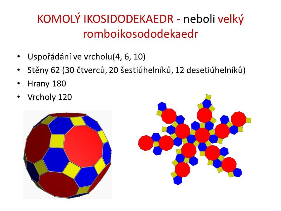 KOMOLÝ IKOSIDODEKAEDR - neboli velký romboikosododekaedr
