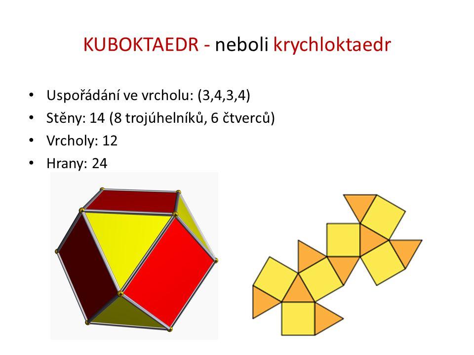 KUBOKTAEDR - neboli krychloktaedr