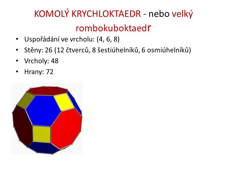 KOMOLÝ KRYCHLOKTAEDR - nebo velký rombokuboktaedr