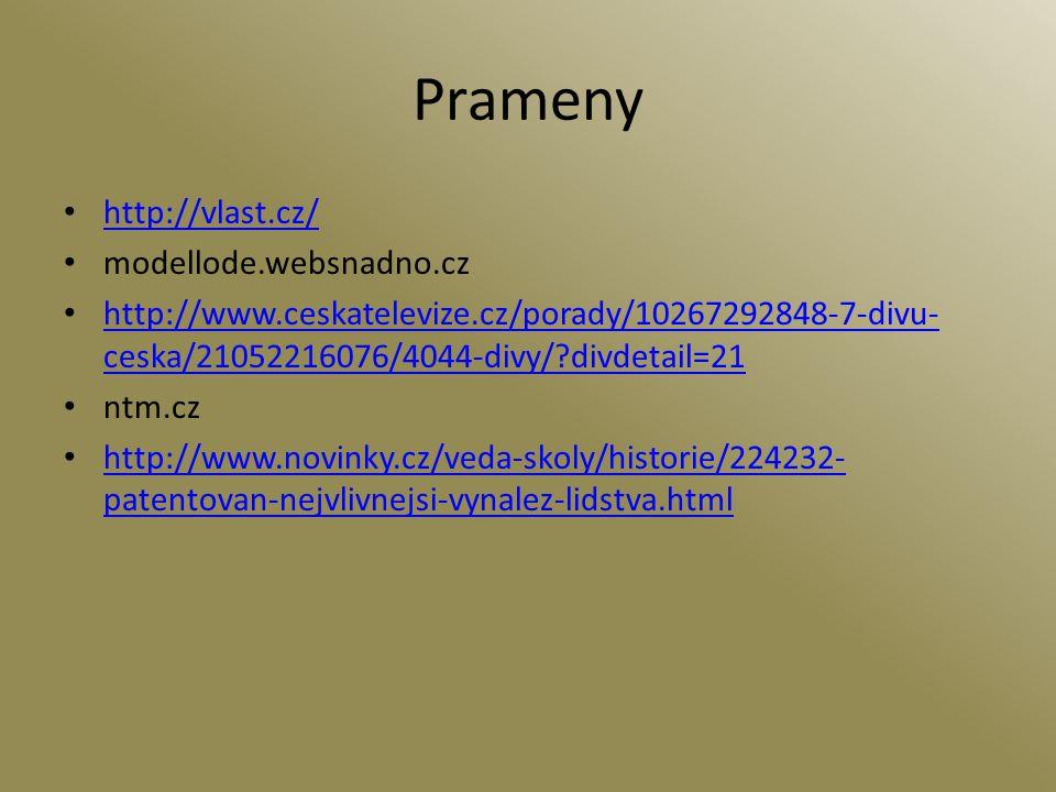 Prameny http://vlast.cz/ modellode.websnadno.cz