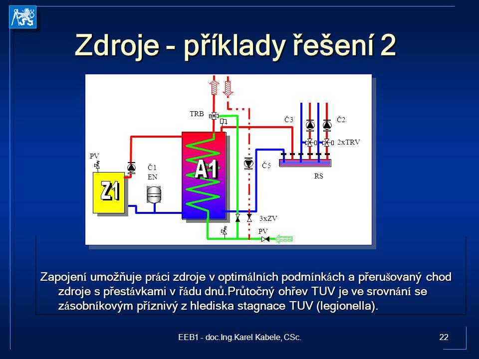 Zdroje - příklady řešení 2