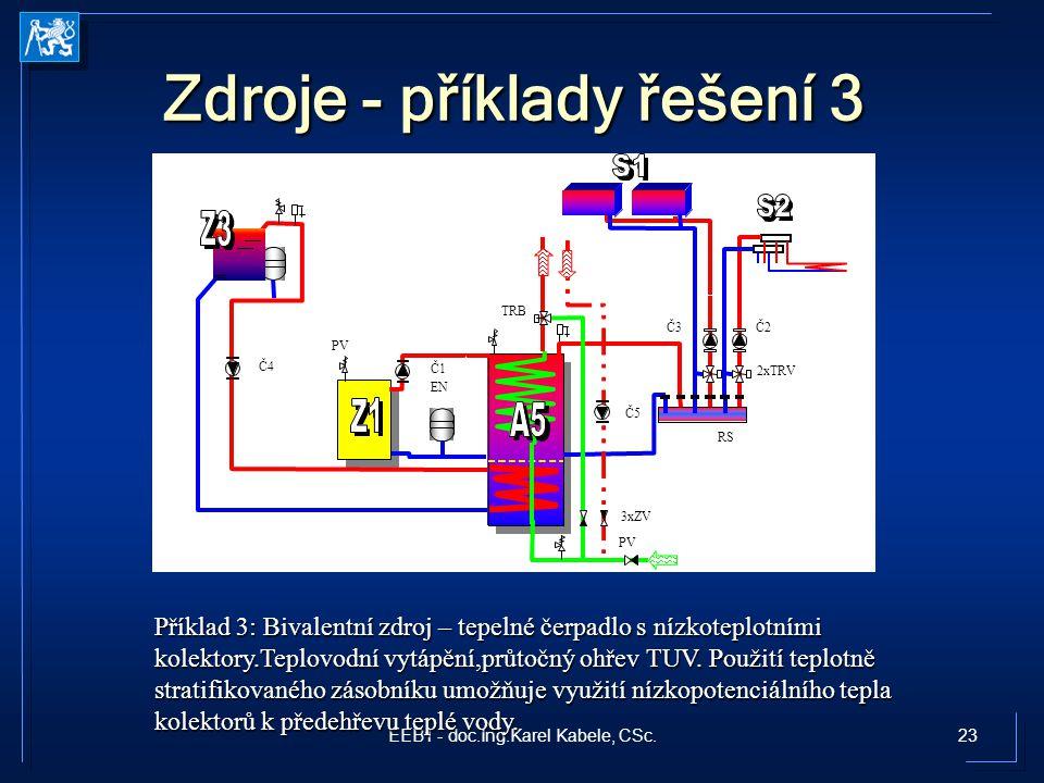 Zdroje - příklady řešení 3