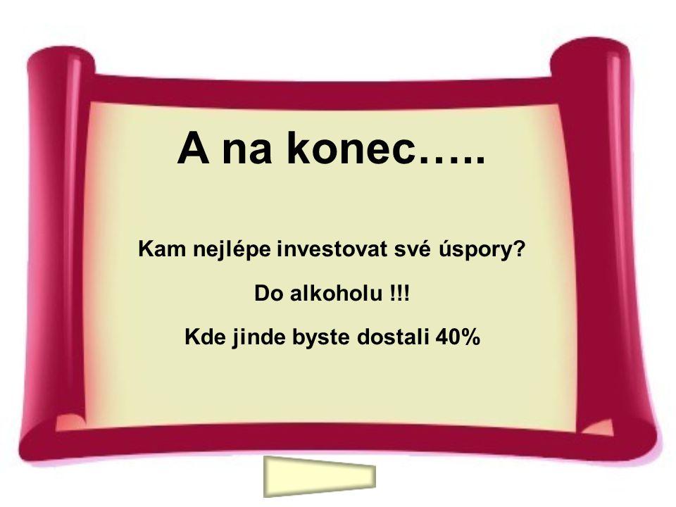 Kam nejlépe investovat své úspory Kde jinde byste dostali 40%