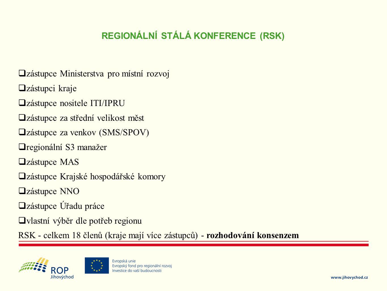 REGIONÁLNÍ STÁLÁ KONFERENCE (RSK)