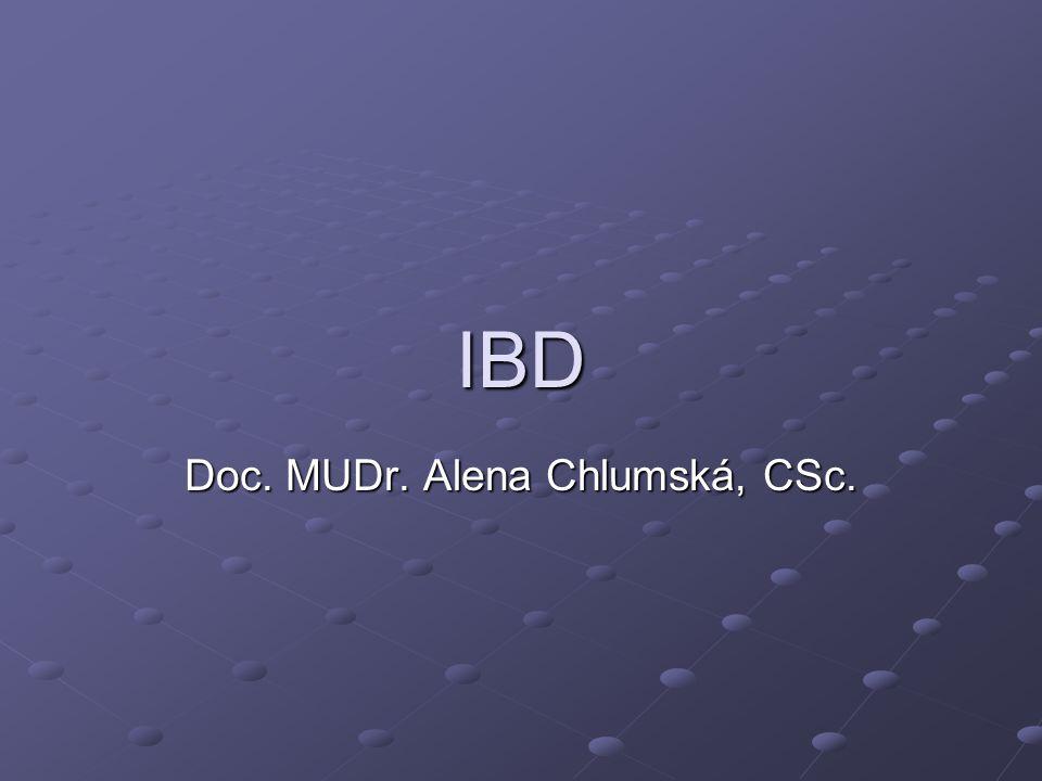 Doc. MUDr. Alena Chlumská, CSc.