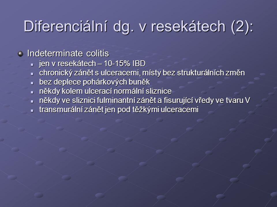 Diferenciální dg. v resekátech (2):