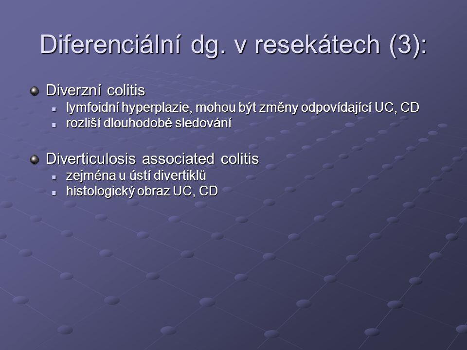 Diferenciální dg. v resekátech (3):