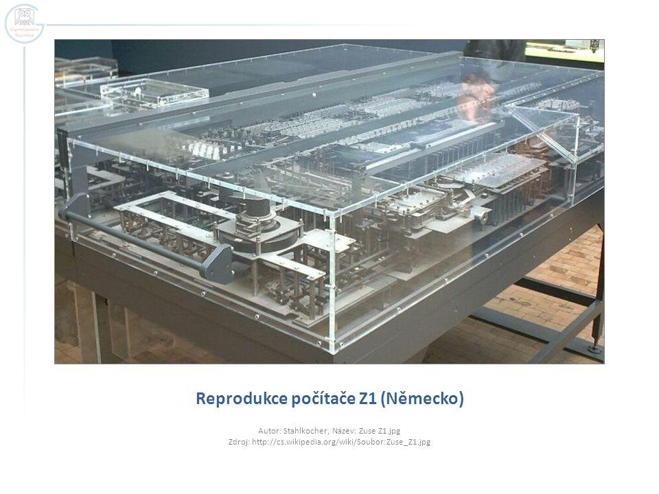 Reprodukce počítače Z1 (Německo)