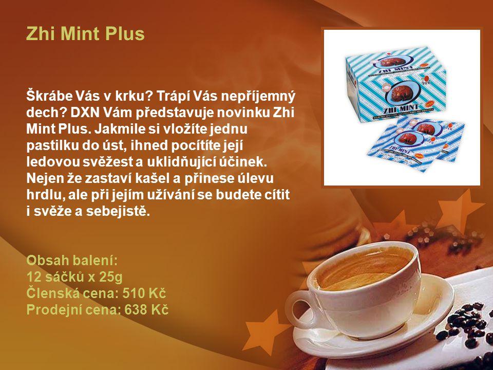 Zhi Mint Plus Škrábe Vás v krku. Trápí Vás nepříjemný dech