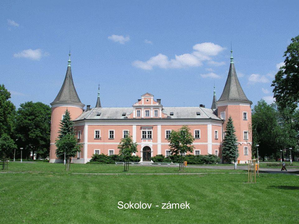 Sokolov - zámek