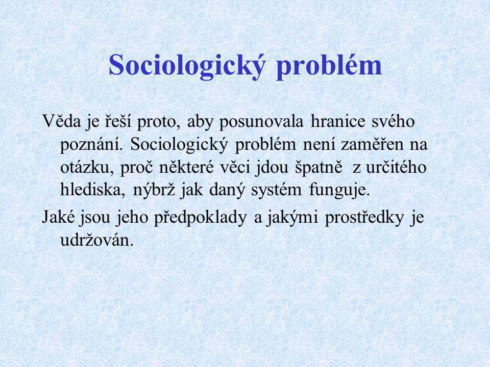 Sociologický problém