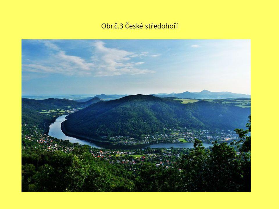 Obr.č.3 České středohoří