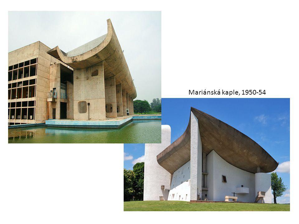 Mariánská kaple, 1950-54