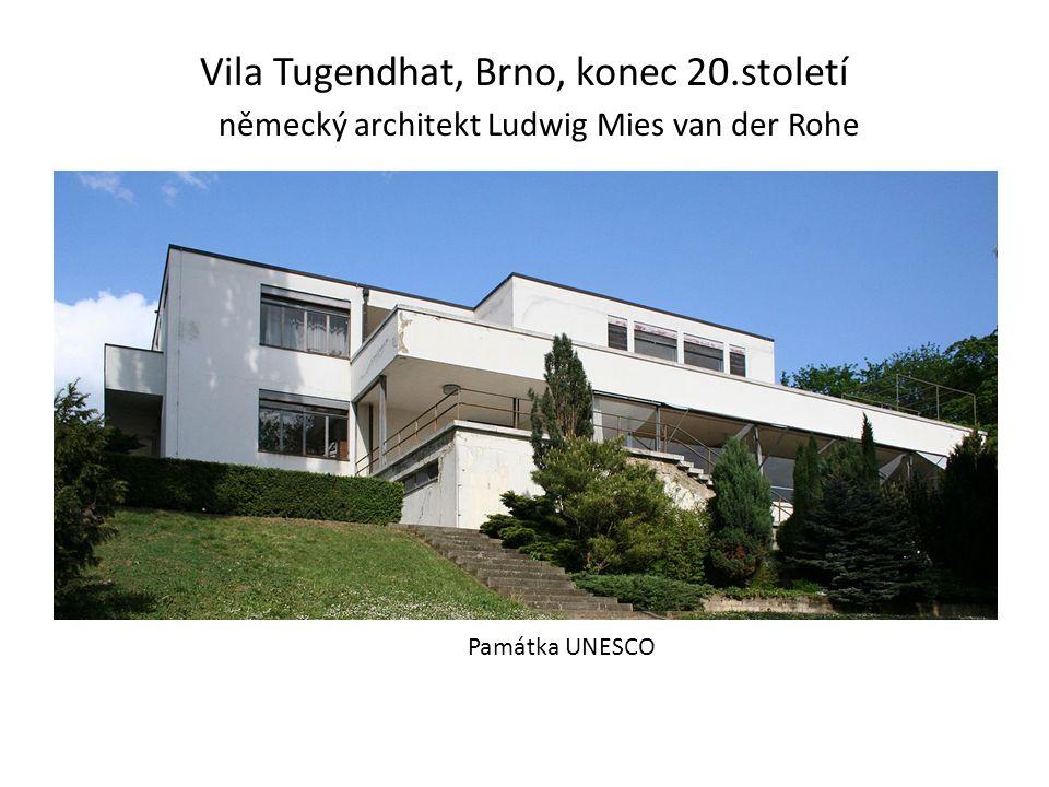 Vila Tugendhat, Brno, konec 20