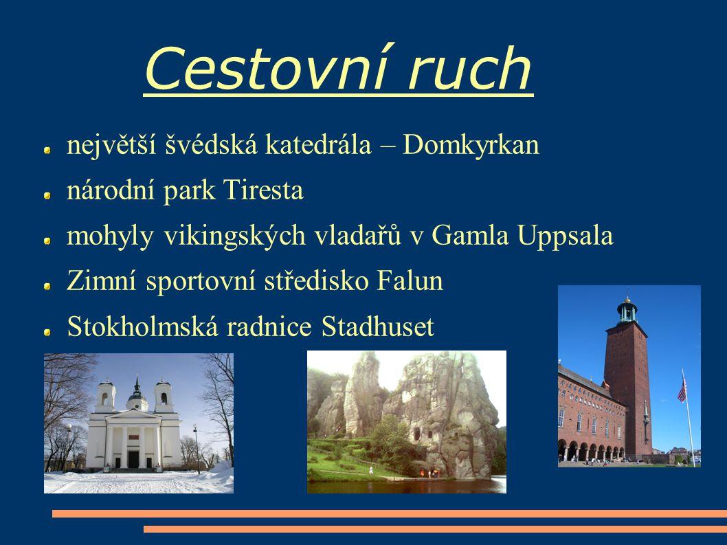 Cestovní ruch největší švédská katedrála – Domkyrkan