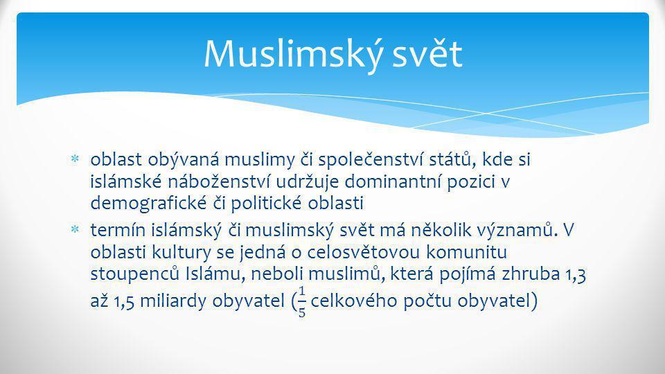 Muslimský svět