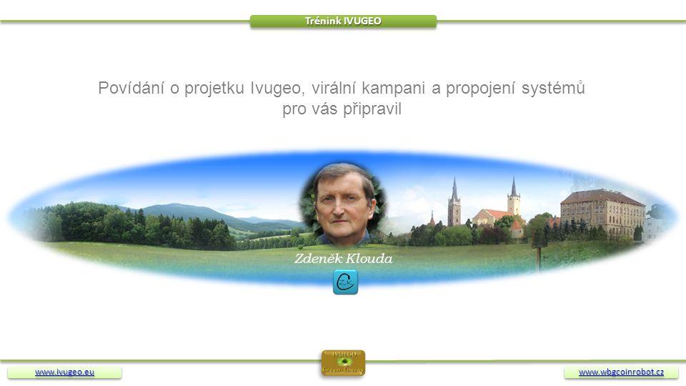 Povídání o projetku Ivugeo, virální kampani a propojení systémů