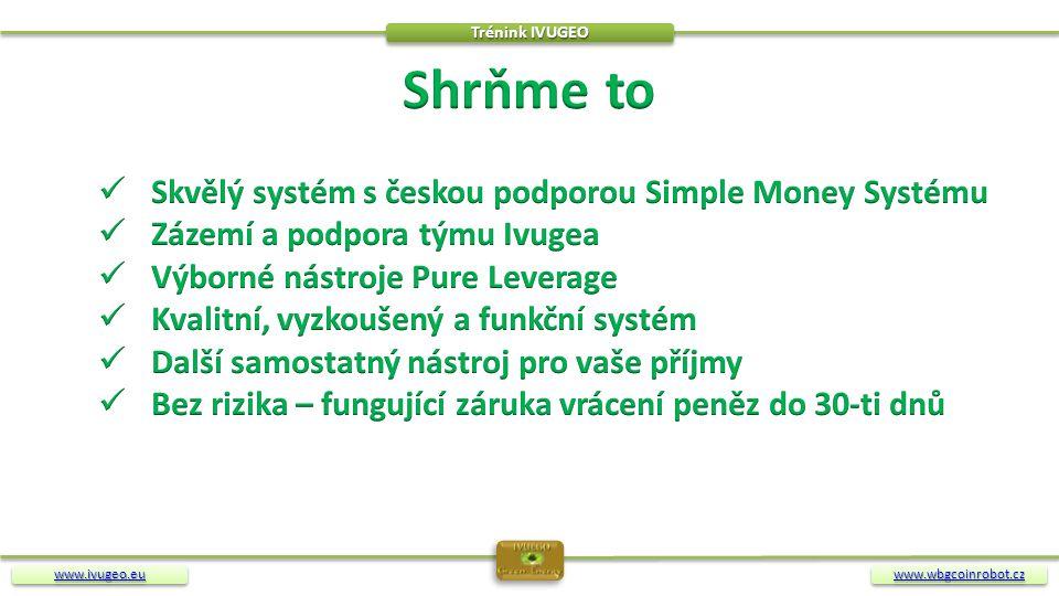 Shrňme to Skvělý systém s českou podporou Simple Money Systému