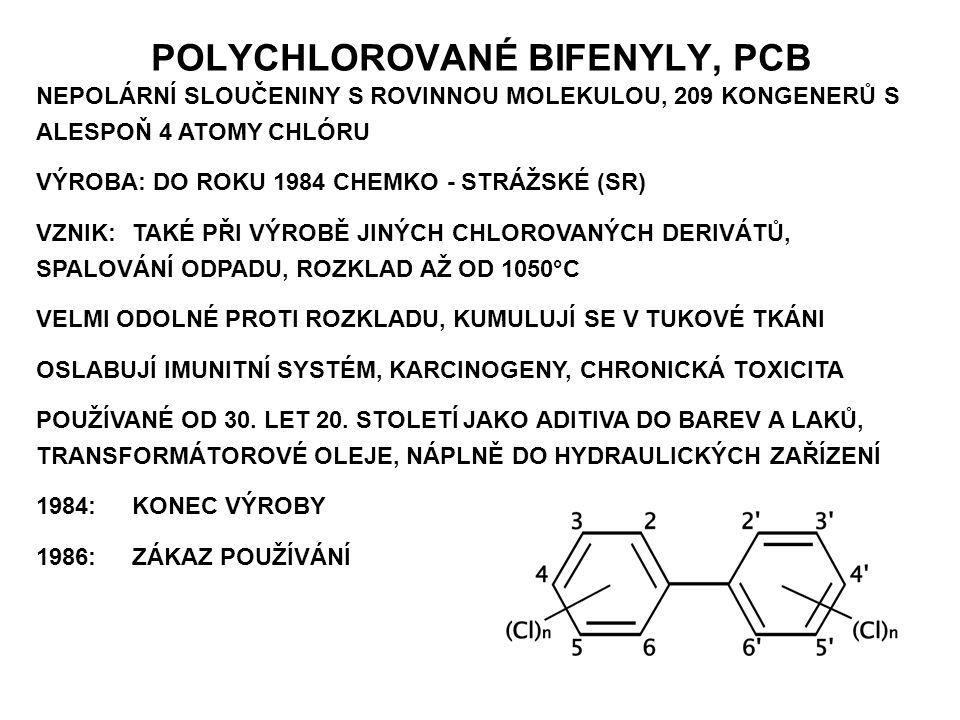 POLYCHLOROVANÉ BIFENYLY, PCB