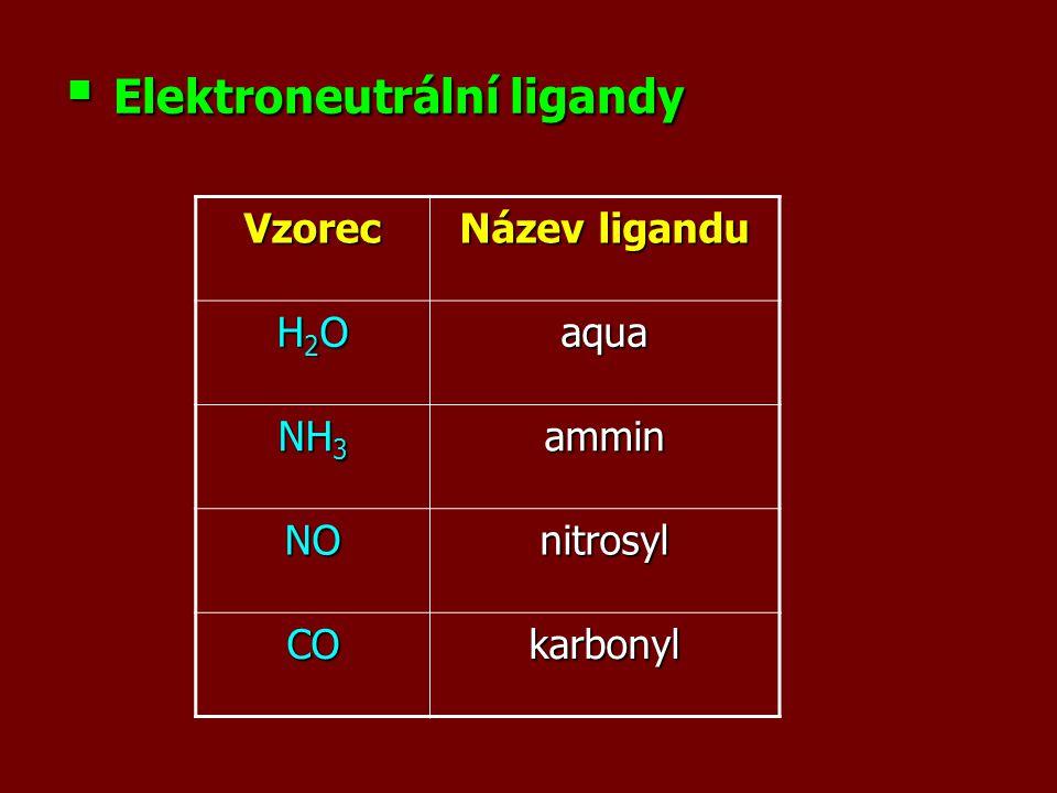 Elektroneutrální ligandy