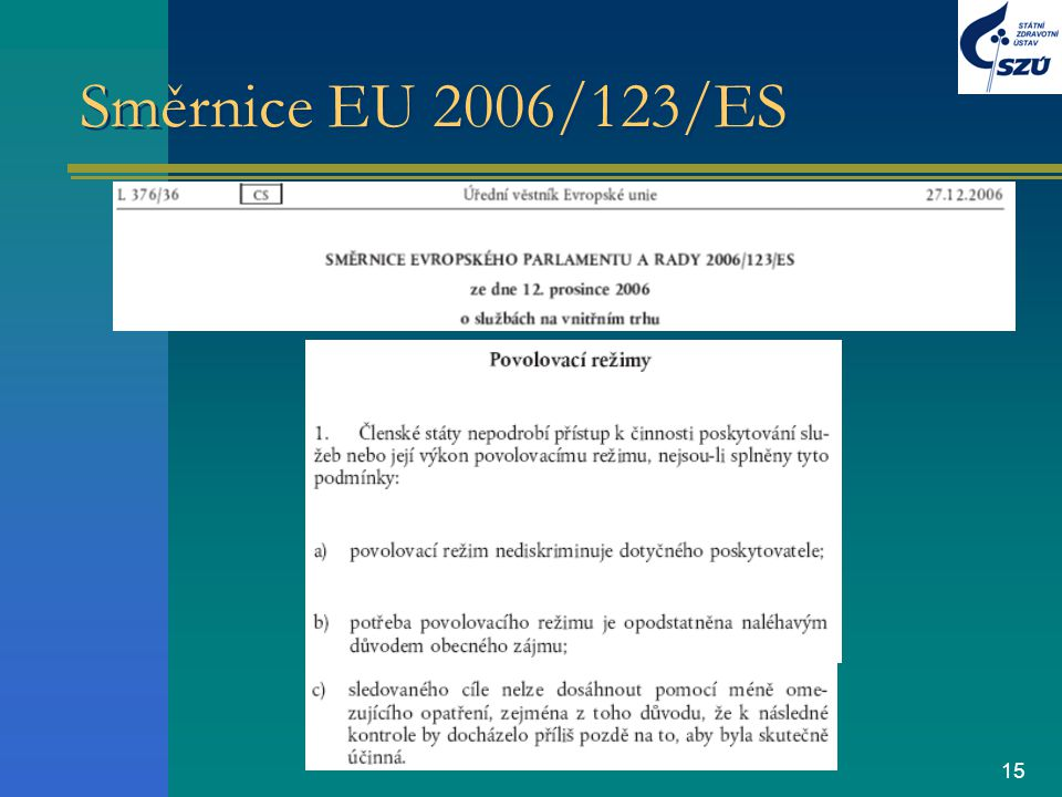 Směrnice EU 2006/123/ES