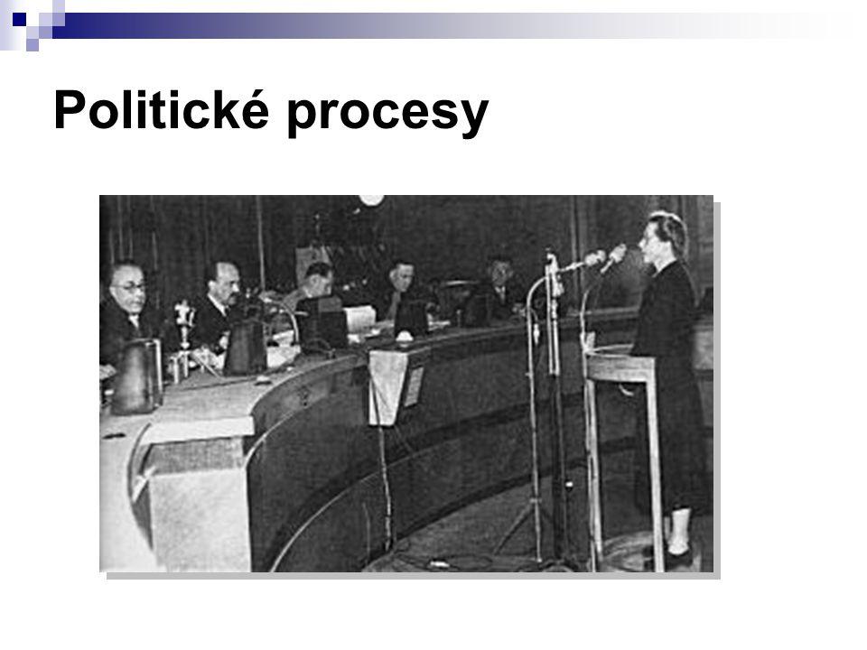 Politické procesy