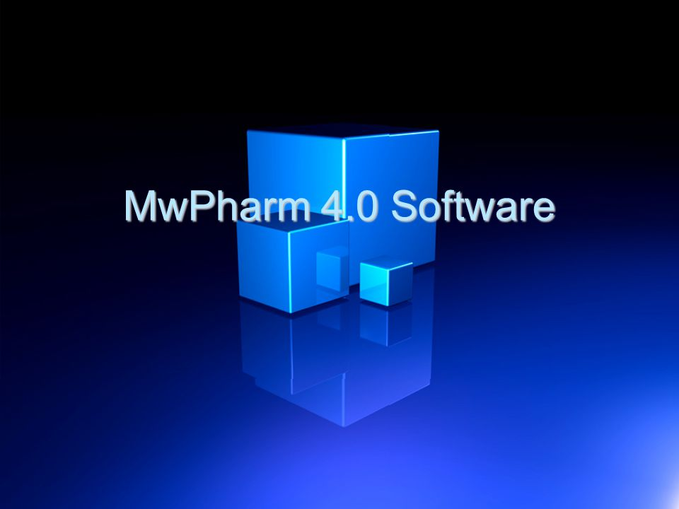 MwPharm 4.0 Software 10