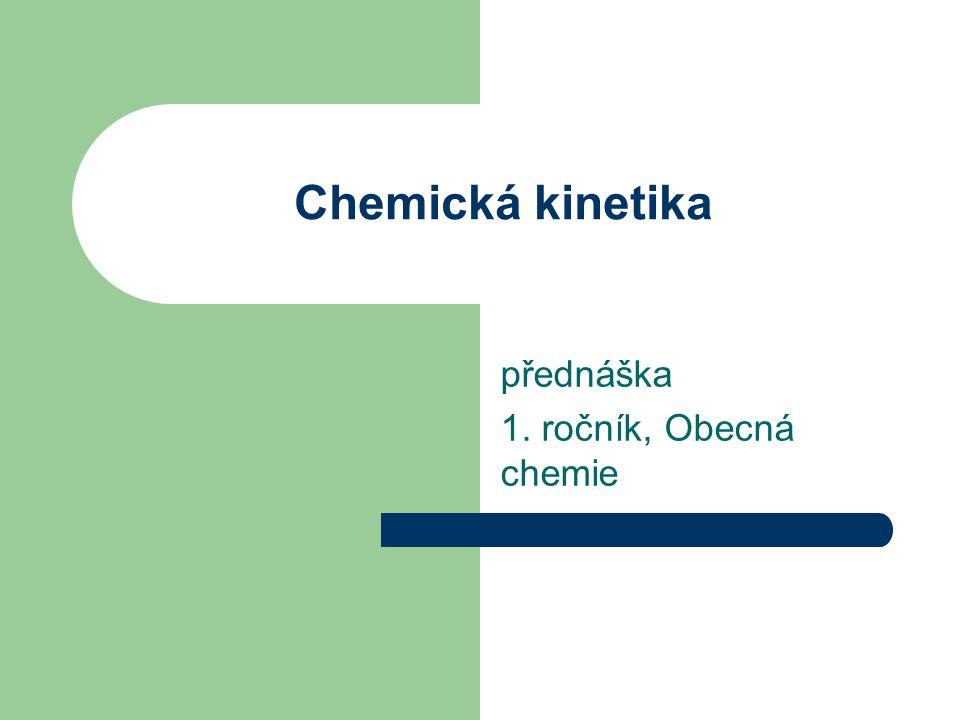 přednáška 1. ročník, Obecná chemie